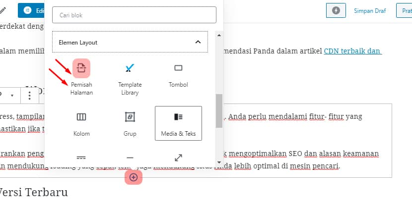 Pagination manual di WordPress