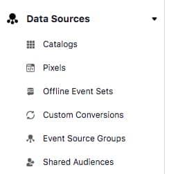 Integrasi katalog dan pixel ke Bisnis Manajer Facebook