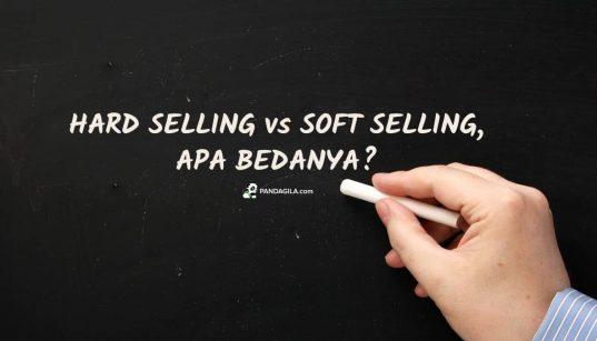 Perbedaan hard selling dan soft selling