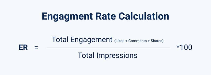 Rumus menghitung engagement rate