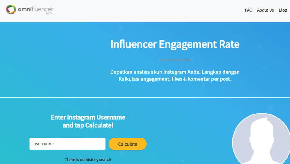 Menghitung engagement rate di omifluencer