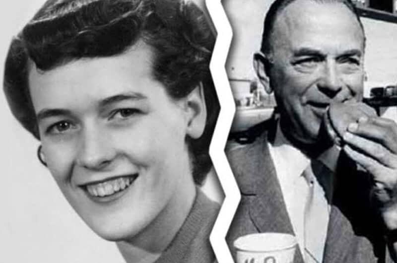 Tampilan Ray Kroc dengan istri pertama