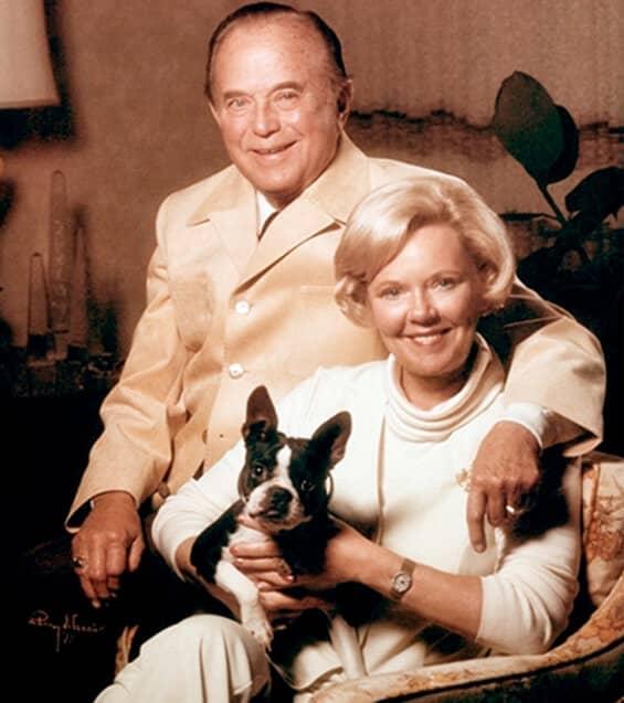Ray Kroc dengan istri ketiga