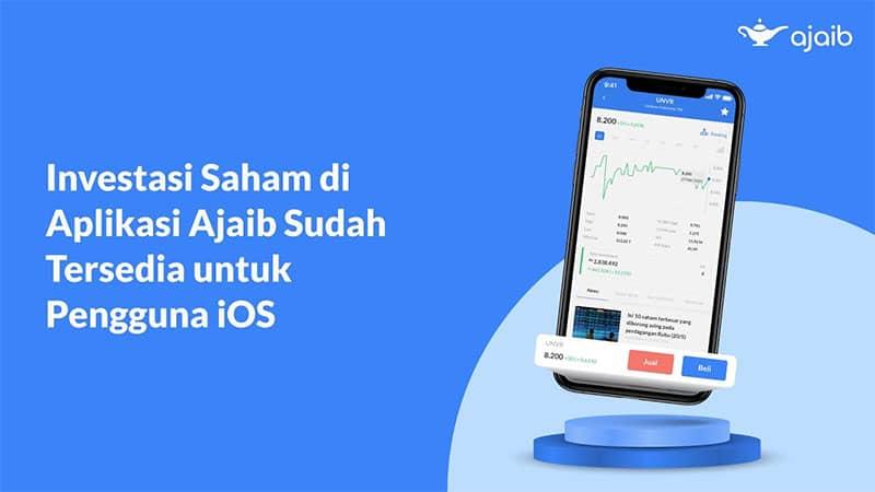 Aplikasi investasi saham Ajaib