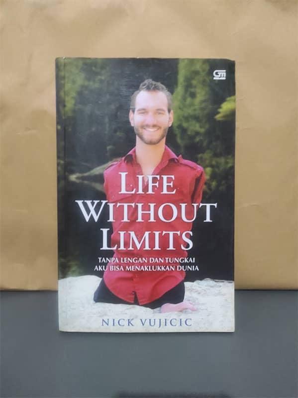 Buku Life Without Limits karya Nick Vujicic