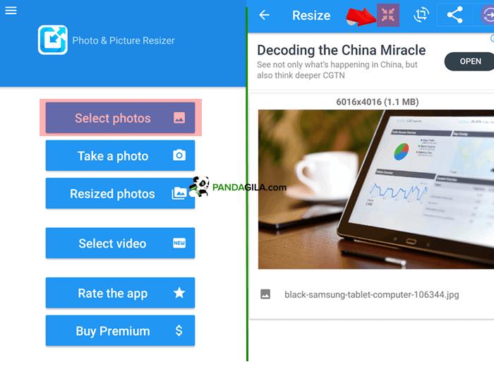 Aplikasi untuk mengecilkan ukuran foto di HP, Photo & Picture Resizer