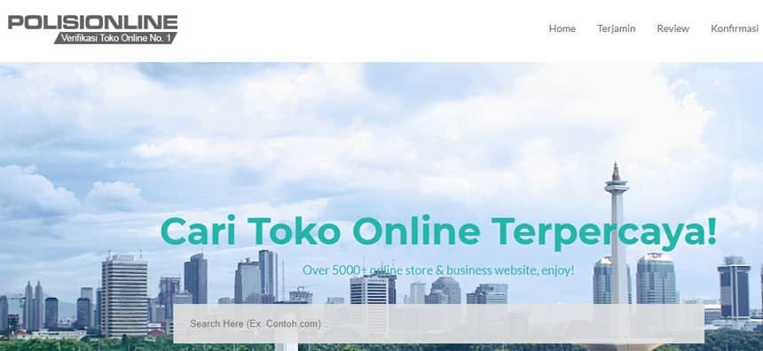 Situs PolisiOnline.com untuk waspadai penipuan online
