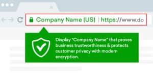 Contoh Extended Validation Certificates SSL