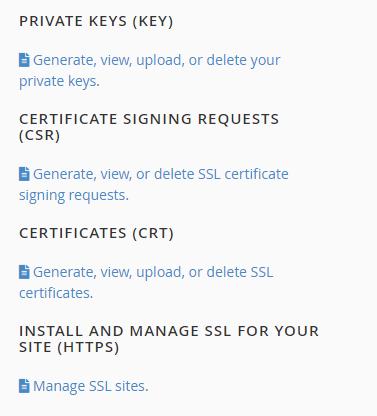 SSL/ TLS Manager