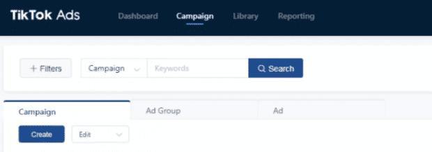 Membuat campaign di TikTok Ads