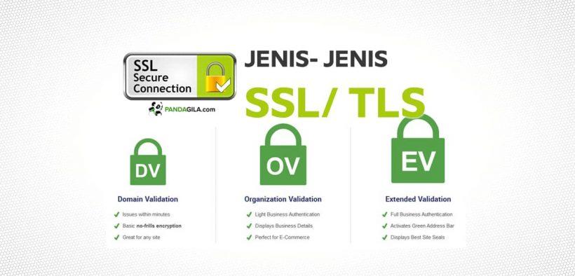 Mengenal jenis- jenis SSL/ TLS