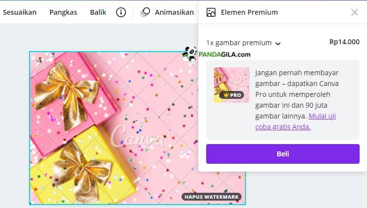 Gambar Premium Canva Pro