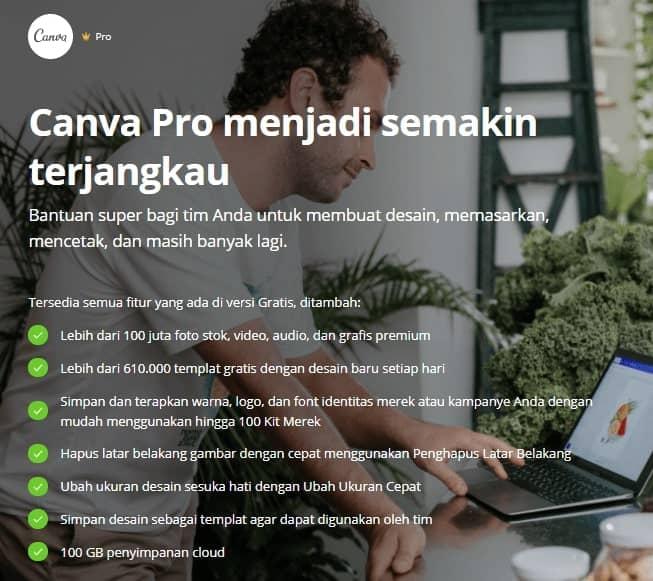 Keuntungan Menggunakan Canva Pro