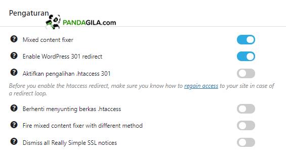 Mengatasi mixed content dengan plugin Really Simple SSL