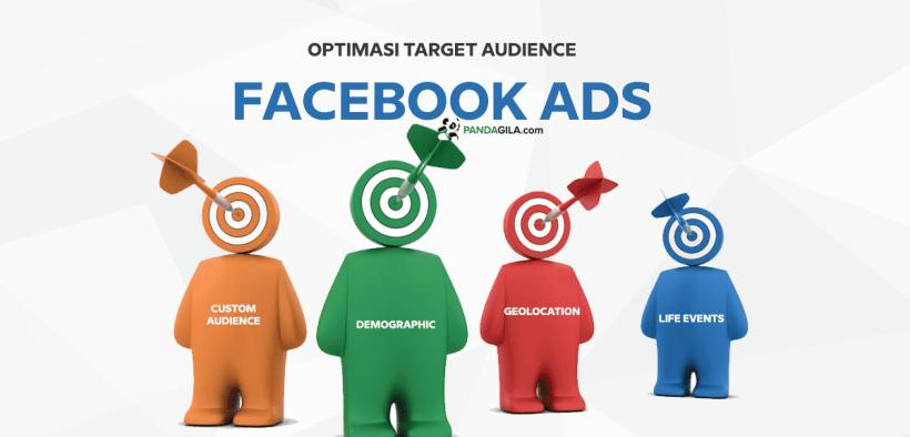 Optimasi target audience Facebook Ads
