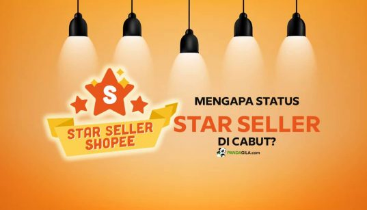 Status Star Seller Shopee Dicabut