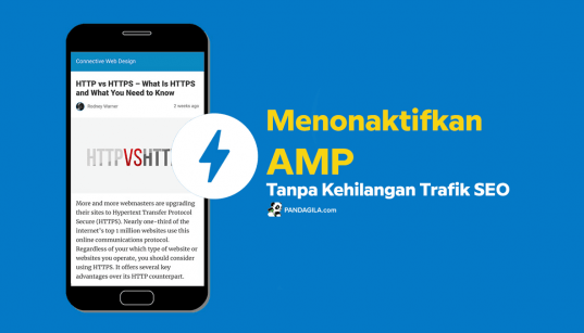 Cara menonaktifkan AMP di website WordPress